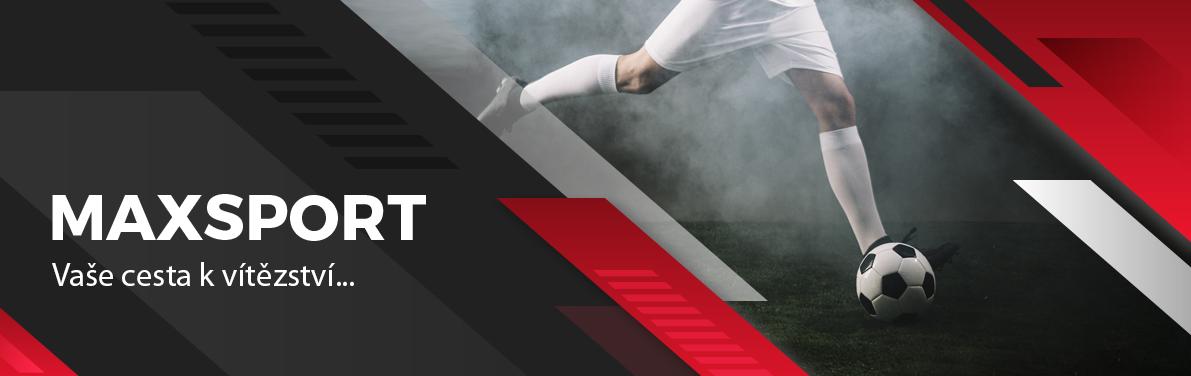 Nově nabízíme i zboží<br/>značky Maxsport